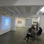 Ausstellung Intallation Schreiben