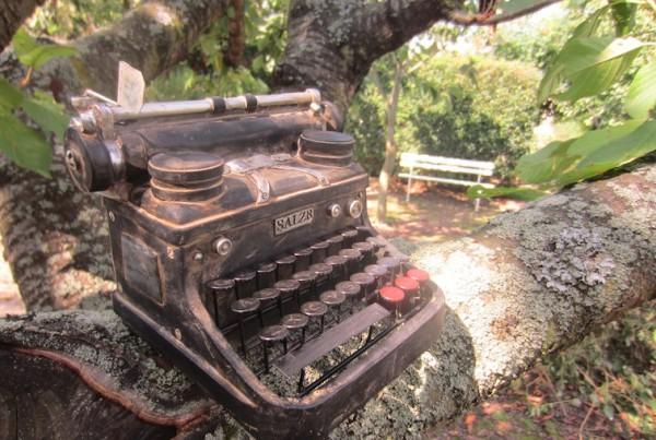 Schreibmaschine Sommer