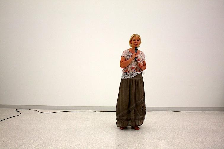 Frau Dr. Liedtke vom Deutschen Musikrat begrüßt