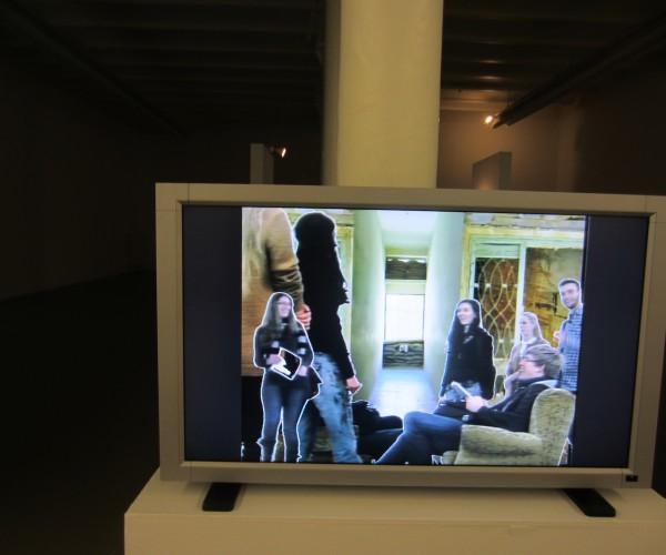 Besuch Staet Galerie_TV
